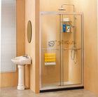 8 mm tempered glass Double sliding doors shower screen
