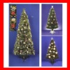 led star ornaments glass christmas tree