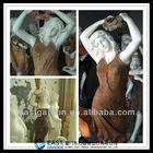 Stone Woman Statues