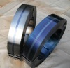 High carbon cold rolled steel strip hardened + tempered