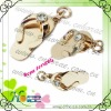sandal shape fashion charm pendant with rhinestones