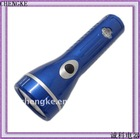 JK-808 plastic led rechargeable flashlight