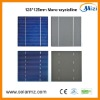 High efficiency mini solar cell 125*125mm solar cell panel CE,ROSH,TUV,UL......