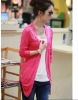 New arrival 2012 ladies hollow out slim fit elegant cardigan