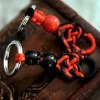 Handmade Cotton Fabric Keychain Chinese Knot Keychain