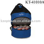 Functional outdoor insulated cooler backpack bag
