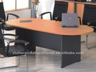 melamine office oval conference table furniture
