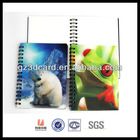 Amazing 3D effect school jotter of Animal Design