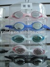 silver plated Swimming Goggles