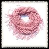 Fancy Fish Net Yarn Scarf