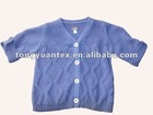 100%cotton kid garment with cable