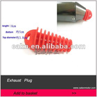 Exhaust Pipe Muffler Wash Plug