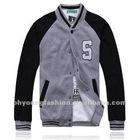Cheap gray baseball jacket for men