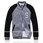 Cheap gray baseball jacket for men