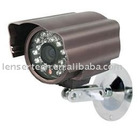 "1/3"" SONY Color CCD 420TVL 12 IR LED CCTV Wired Waterproof Camera"