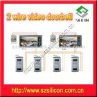 2 wire video doorbell for villa