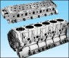 die casting cylinder head and engine body