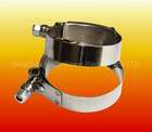 FIRM GRIP UNIVERSAL POLISH STAINLESS STEEL T- BOLTS CLAMPS HOSES