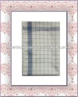 Bule checked Kitchen tea towel