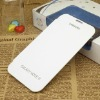 Waterproof flip leather case for samsung galaxy note2 N7100