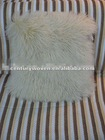 Hot sale!! long hair and luxuriant tiblet lamb fur cushion