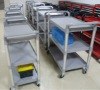 Plastic food trolley YES-ND100