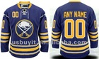 Bruins Custom Blue Authentic Jersey Free Shipping Wholesale Mix Order