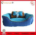 Cute ,comfortable pet dog bedding ,bone and blanket