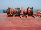 Winch, windlass, capstan (for marine & shipyard purpose)