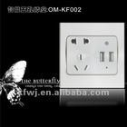 USB power point/USB electronic outlet/USB plug-in/USB wall socket/USB outlet
