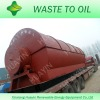 Latest style, 2012 tire pyrolysis crude oil plant