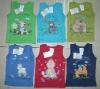Baby Printed Vest stock