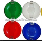 Plastic round coin tray , money tray, promotional gift