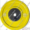 olympic barbell plate color
