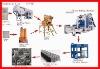 block production line,brick production line,paver production line