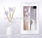 wholesale decorative home fragrance aroma ceramic reed diffuser