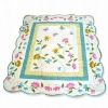 100% cotton washable embroidery quilt