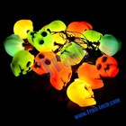 Skull Heads String LED Lights for Halloween