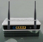 300M wireless 802.11b/g/n with dual antenna and plastic case 4p Router