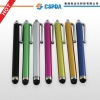 colorful retractable touch screen Stylus Pen for iPad2/iPad/iPhone 4g/3g/3gs