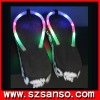 light up beach slipper,led slipper