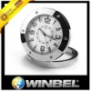 Black small portable video clock
