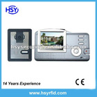 3.5 inch Wireless video door phone with gray Monitor