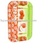 Plastic fruit tray