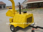 CE certificate Hydraulic Feeding Wood Chipper with 40hp diesel engine