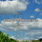 High quality steel electric power pole tower