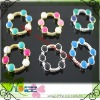 colorful round plastic buckle