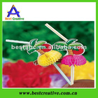 Tissue Palm Tree Plastic Straw