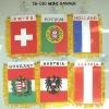 Mini banner,promotion flag,car flag,mini flag,car decoration,window flag,advertising banner,sport banner,decoration banner