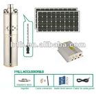 2012 New Design Stailnless Steel 316 Solar Pump / Solar Water pump